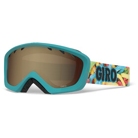 Giro Chico Goggles Kinder sweet tooth/amber rose
